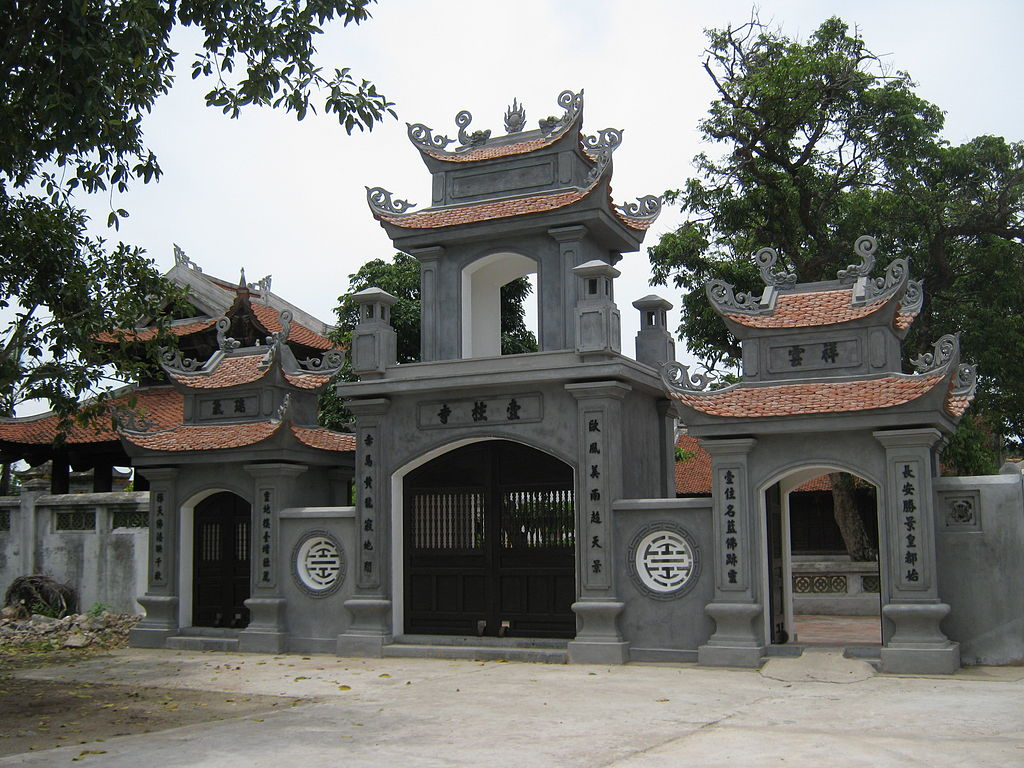 Architecture-of-the-gate-ofNhat-Tru-pagoda