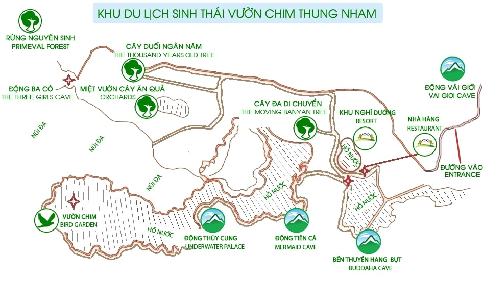 thung-nham-bird-garden-tourist-map