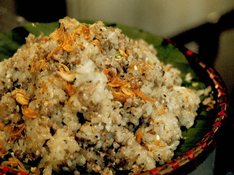 sticky-rice-with-ants-eggs-ninh-binh