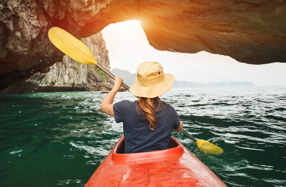 kayaking-in-halong-bay-is-a-must-do